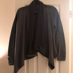 Blank NYC faux leather and cloth jacket